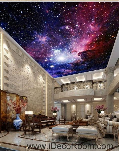 3d Galaxy Wallpaper For Ceiling by Galaxy Nubela Outerspace 00081 Ceiling Wall Mural Wall