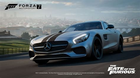 forza motorsport  welcomes  fate   furious car
