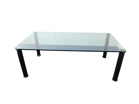 bureau table en verre table verre design d 39 occasion adopte un bureau