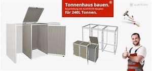 Mülltonnenverkleidung Selber Bauen : m lltonnenbox selber bauen bauanleitung ~ Watch28wear.com Haus und Dekorationen