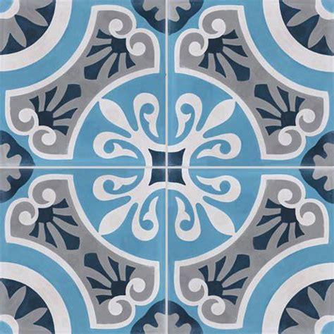 lot de 4 carreaux de ciment cercle bleu l 40 x l 40 cm leroy merlin