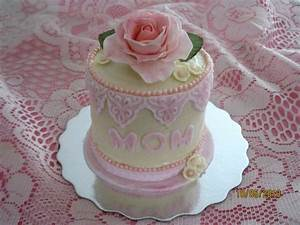 Mini Mothers Day Cake White Cake With Vanilla Butter Cream ...