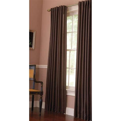 martha stewart curtains martha stewart living semi opaque tilled soil faux silk