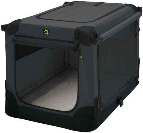 hundebox faltbar maelson 174 hundebox faltbar soft kennel anthrazit