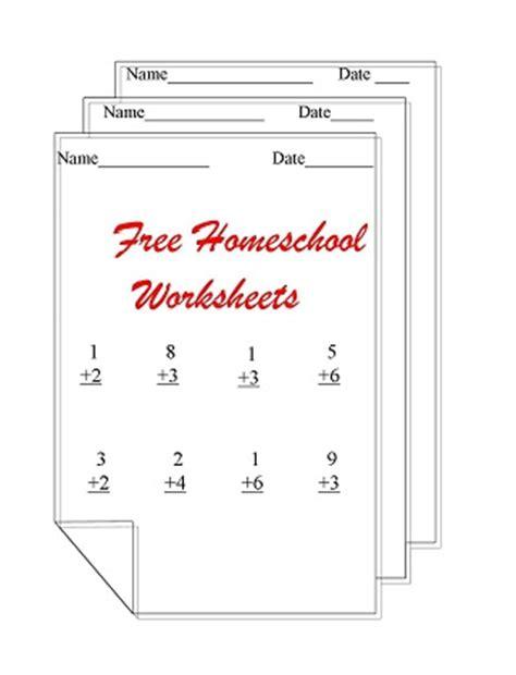 homeschooling worksheets