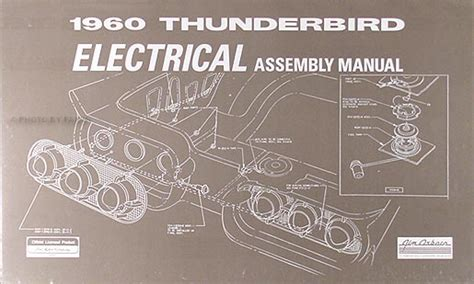 Thunderbird Body Trim Sealant Assembly Manual Reprint
