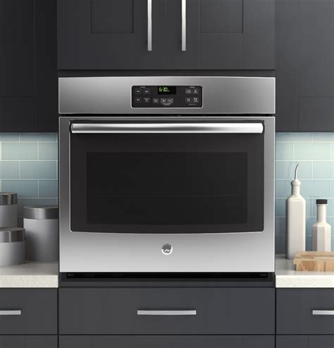 """Jt1000sfss  Ge 30"""" Builtin Single Wall Oven Stainless"""