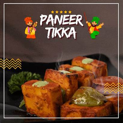 Paneer Tikka Dishes Many Famous State Which