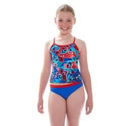 Junior Girls Swimwear Model