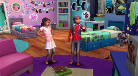 Action Packed Kids Rooms : The Sims 4 Kids Room Stuff