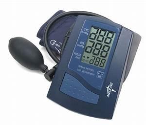 Manual Inflation    Digital Read Blood Pressure Monitor