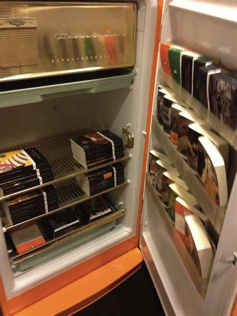 book preserving refrigeration  penguin fridge book