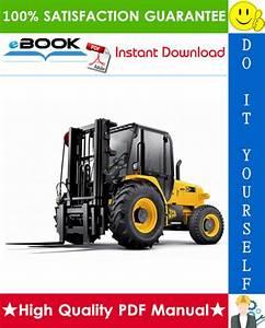 Jcb 926  930  940 Rough Terrain Forklift Service Repair