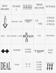Hidden Meaning Brain Teaser Free Printable Game Kandy