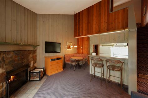 bedroom loft condo douglas fir resort chalets