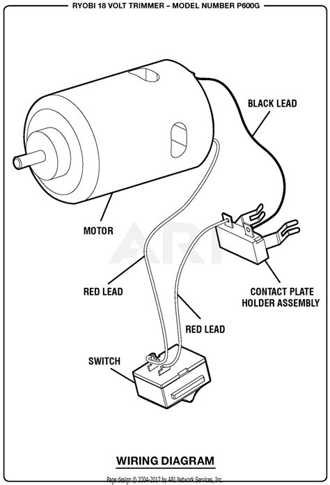 Homelite Volt Trimmer Parts Diagram For Wiring