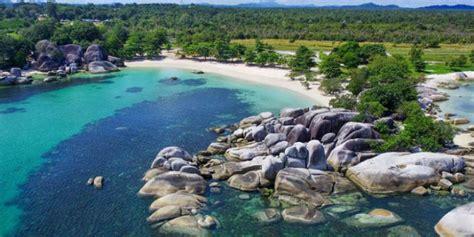 belitung tourism set  triple  hanandjoeddin airport