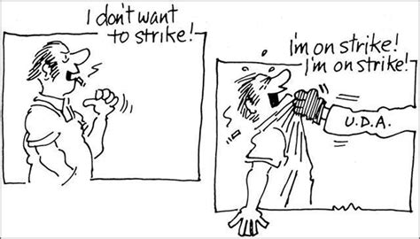 Uwc Strike Cartoon 1974