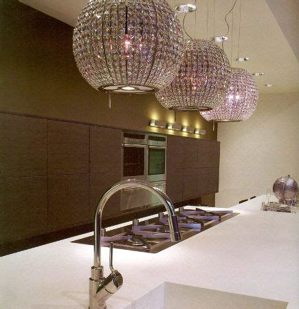 Kitchen Extractor Fan Light Cover by Ventilation Disguised As Bling Lighting For The