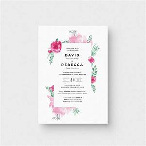 english garden invitation card the paperpapers wedding With wedding invitation print malaysia