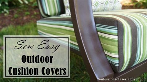 Sew Easy Outdoor Cushion Covers (part 1)  Confessions Of