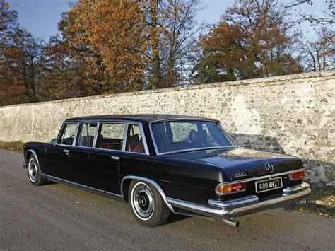 Photos of Mercedes-Benz 600 4-door Pullman Limousine (W100 ...