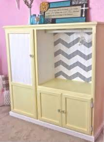 freestanding kitchen ideas turn an entertainment center into a armoire diy