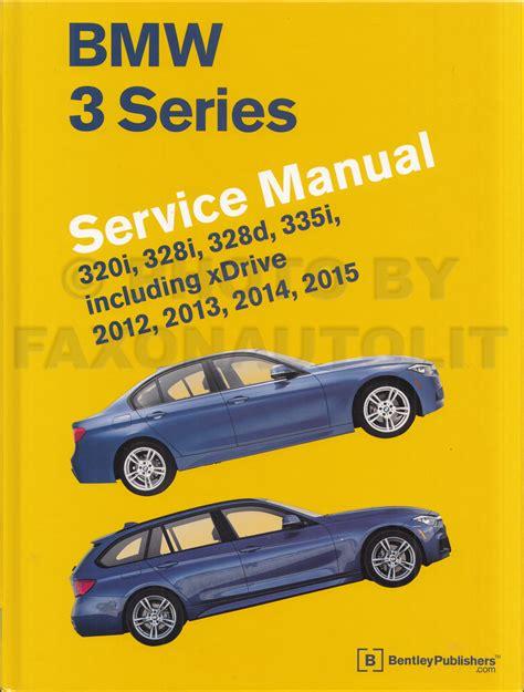 free auto repair manuals 1993 bmw 3 series instrument cluster 2012 2015 bmw 3 series bentley repair shop manual 320i 328i 328d 335i
