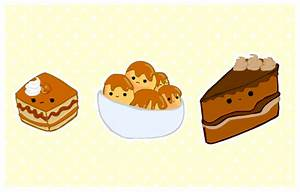 cute foods - cake selection by purapea on DeviantArt