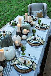 25, Easy, Fall, Table, Decorating, Ideas, For, A, Cheerful, Dinner