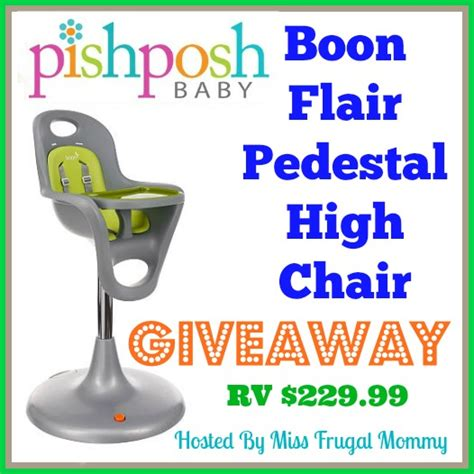 boon flair high chair giveaway it s peachy keen