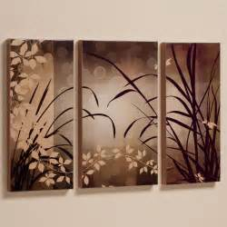 celebrate elegance triptych canvas wall art set