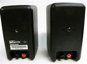 Polk Audio Rm2300 Satellite Speakers Used Demo