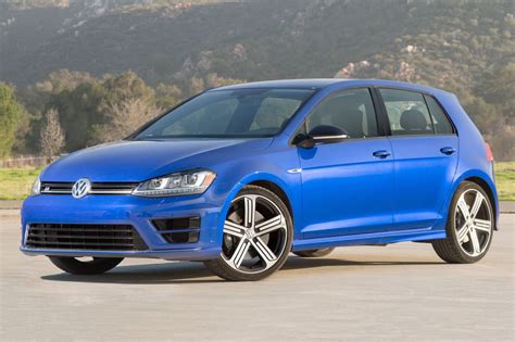 volkswagen hatchback 2016 volkswagen golf r hatchback pricing for sale edmunds