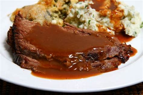 how to make gravy from beef drippings roast beef with coffee gravy on closet cooking