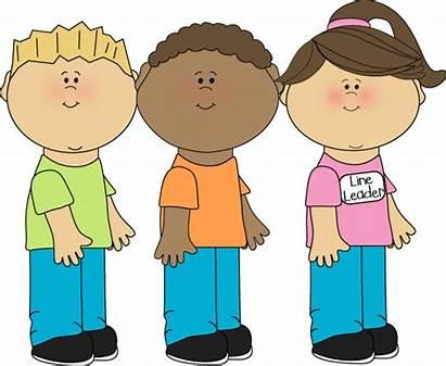 Leader Line Preschool Clipart Clip Classroom Job
