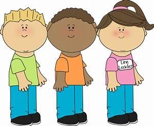 Imgs For Gt Kids Walking In A Line Clip Art