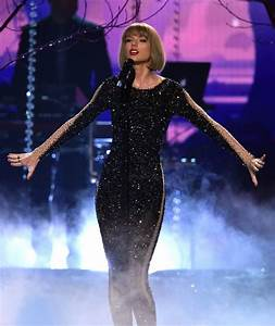 Recording artist Taylor Swift performs onstage during The ...