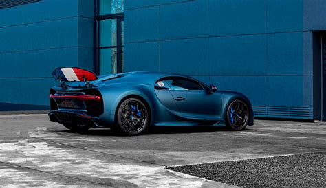 """It celebrates 110 years since the first ever bugatti obviously, but what you get in place of lightness and smallness is a celebration of bugatti's french roots. Bugatti Chiron Sport """"110 ans Bugatti"""": limitado a solo 20 unidades"""