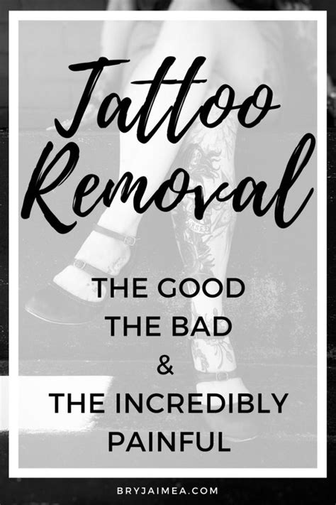 Tattoo Removal- The good the bad and the incredibl… #