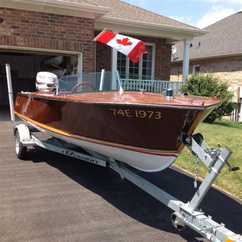 Boat Motor For Sale Peterborough by Peterborough Mahogany Runabout 1959 New Boat For Sale In