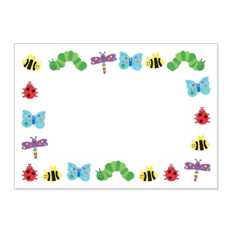 bugs label name tags self adhesive 981 | bugs label