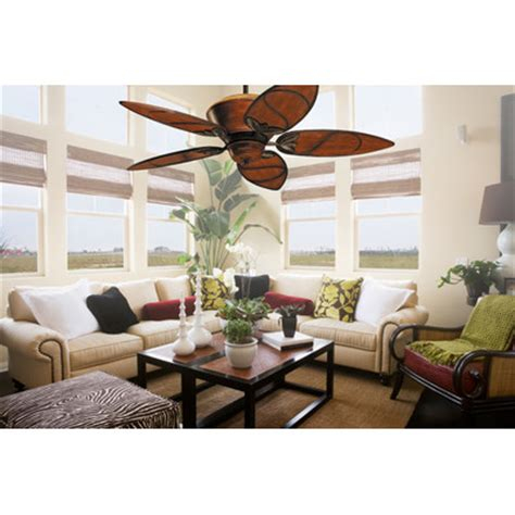 bahama fans 52 quot paradise key 5 blade ceiling fan with remote reviews wayfair supply