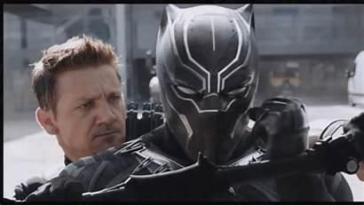 Captain America War Panther Civil Along Strong