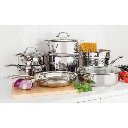viking  piece tri ply cookware set sams club