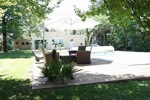 terrasse naturellement bois constructeur de maison bois With exemple de jardin de maison 18 escaliers kaori constructions maison ossature bois