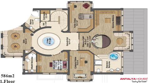 plan villa moderne 200m2 modernes villas de luxe 224 bursa turquie