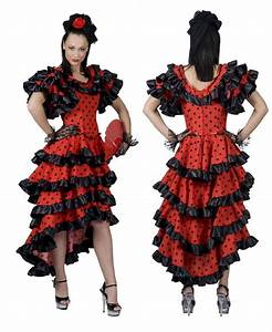 party costumes spanish dancer fancy dress With robe espagnol