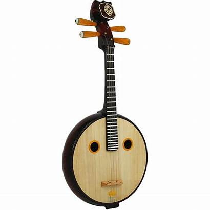Ruan Instrument Stringed Instruments Chinese Traditional Asian