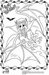 Coloring Halloween Pages Vampire Dracula Bat Pony Colors Fun sketch template